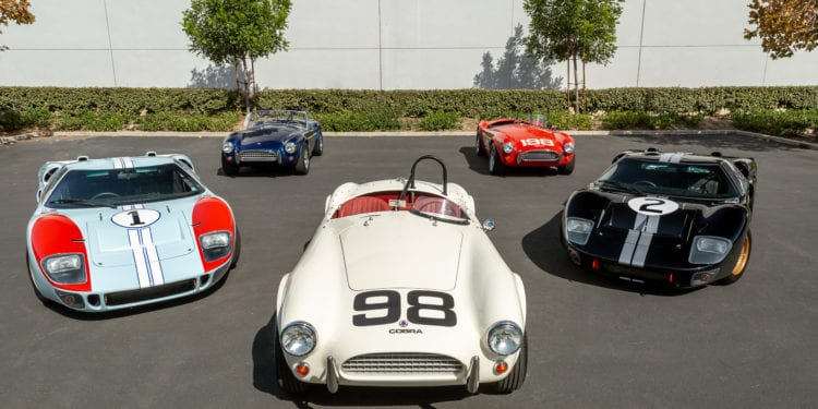 "Superformance & Shelby American Unveil ""Cinema Series"" Cars"