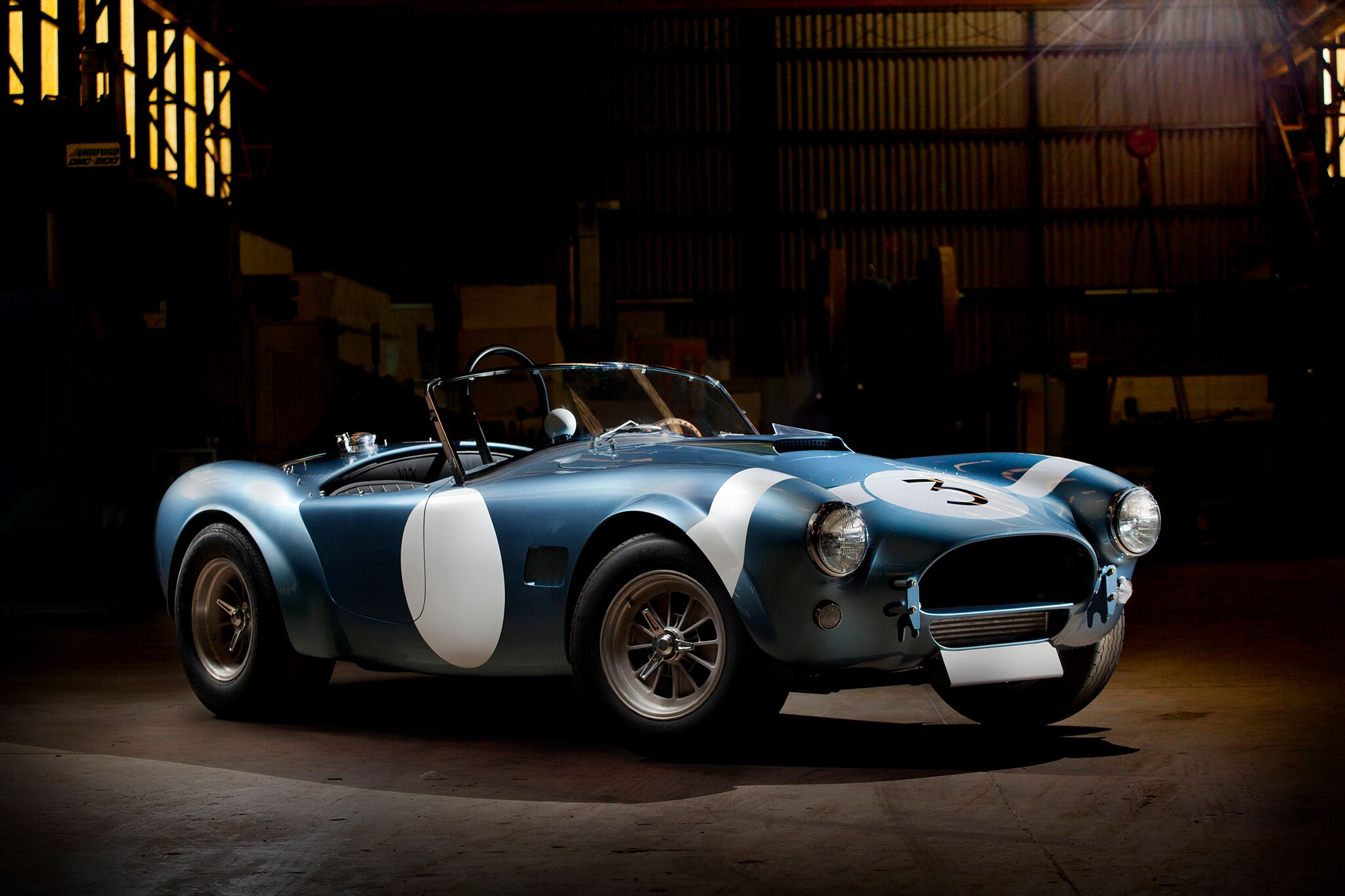 RARE SHELBY BONDURANT EDITION CSX2000 SERIES COBRA ROADSTER TO BE AUCTIONED AT BARRETT-JACKSON